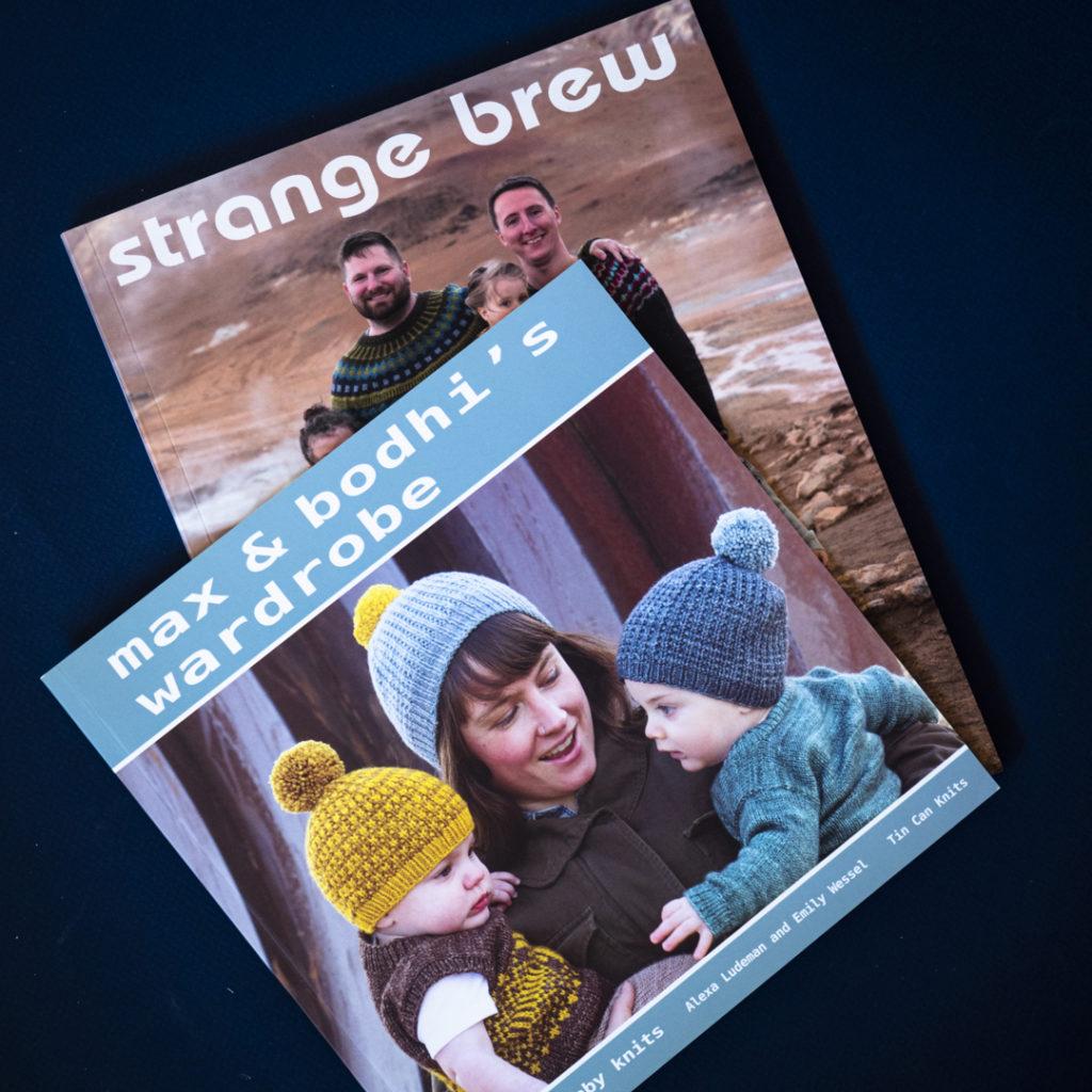 Two books: Strange Brew and Max & Bodhi's Wardrobe